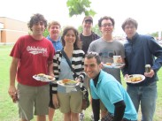 Some alumni at the 2011 picnic