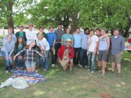 Some of the alumni at the 2011 Picnic