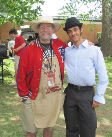 Alex and I at the Student/Alumni picnic