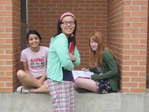 3 out of my 5 AP Physics girls. Smartest girls on campus.
