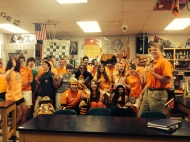 2nd hour Physics cheering: 2014