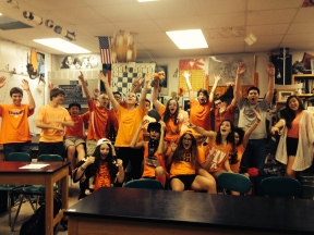 1st hour Physics cheering: 2014