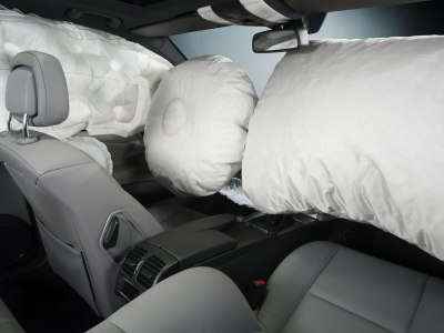 Air bags deployed.