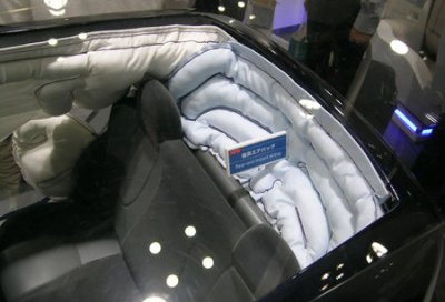 rear passenger air bags.
