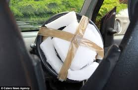 An Oklahoma air bag.