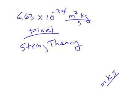 Fall 2014 Packet 1: Plank length used in String Theory.