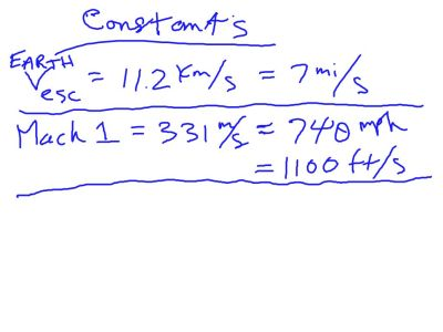 Our new Constants page at the back of the notebook.