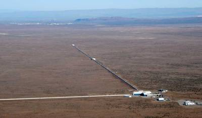 LIGO (Laser Interferometer Gravity Observatory)-- We have two of them in the US.  Still looking for gravity waves.