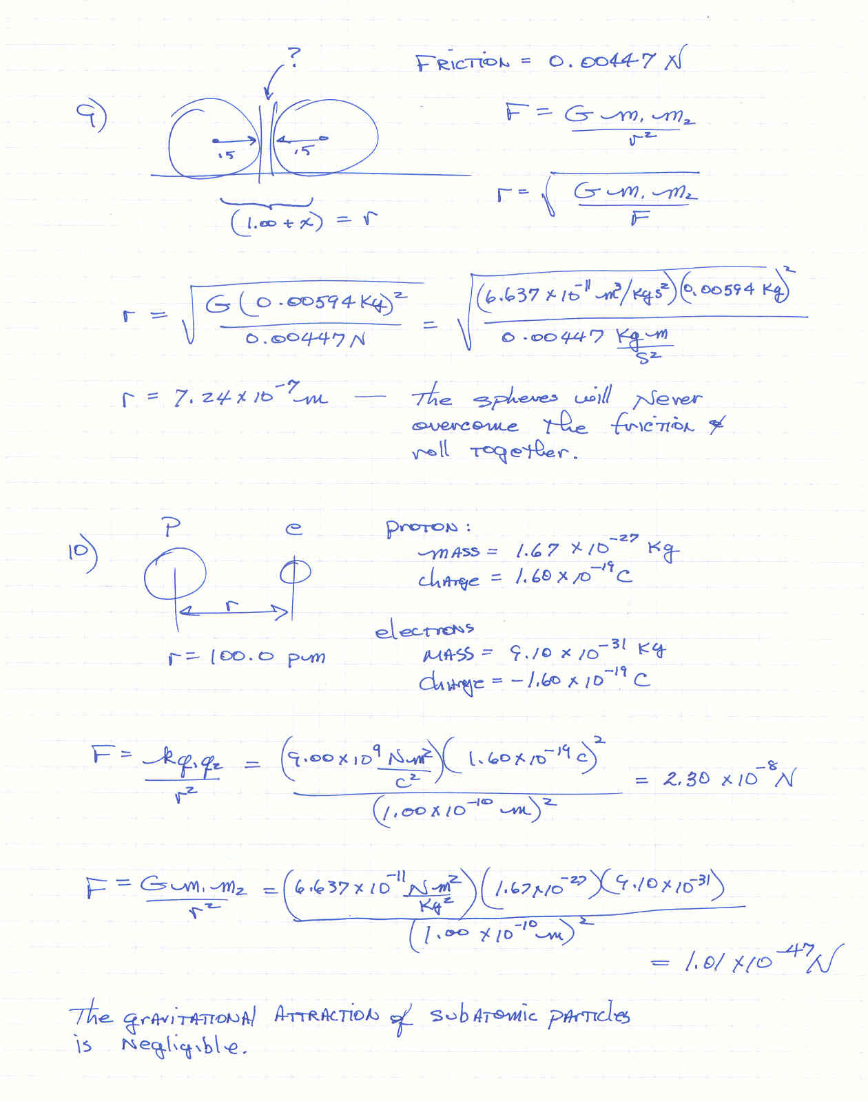 Worksheets Law Of Universal Gravitation Worksheet law of universal gravitation worksheet 1 solution pdf google