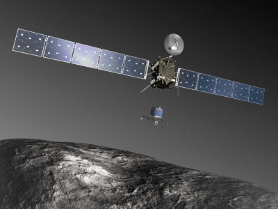 So . . . a radio wave takes 20 minutes to get to Rosetta.
