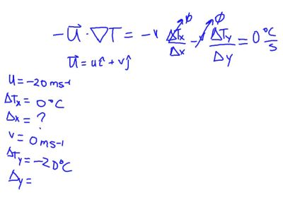 Meteorology (Temperature Advection) #13