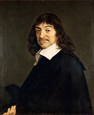 French natural philosopher Rene Descarte (1596 - 1650)