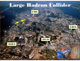 Map showing the location of the four detectors.