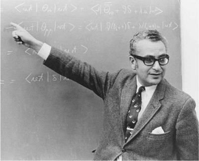 1964 -- Enter a young Murray Gell-Mann.