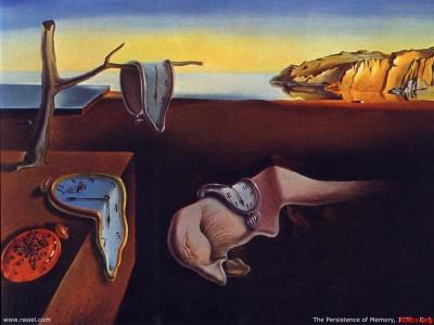 Dali's melting clocks