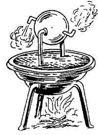 Here's Engine -- World's first steam engine (100AD)