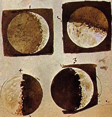 Galileo's-sketches-moon