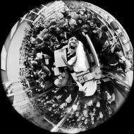 Salvador Dali in a security mirror