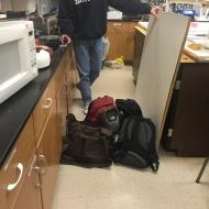 Proper use of backpacks