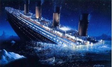 Imagini pentru titanic sinking